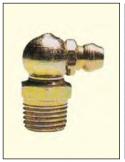 ingrassatori piegati 90° 1/4 gas