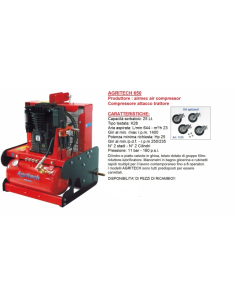 Compressore AIRMEC AGRITECH 650