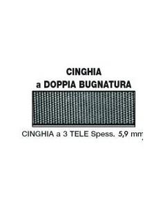 Cinghia Bugnata Doppia